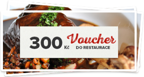 Voucher do restaurace